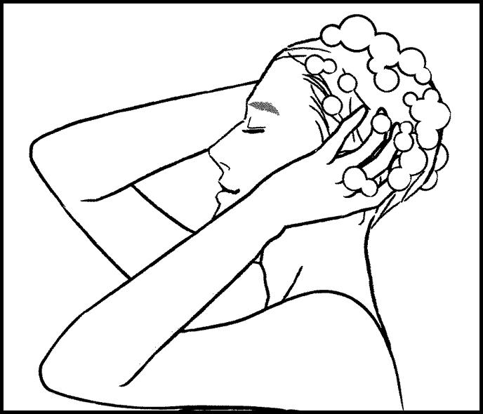 How to use HairRepro:Flushing