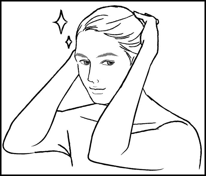 How to use HairRepro:Provide moisturization