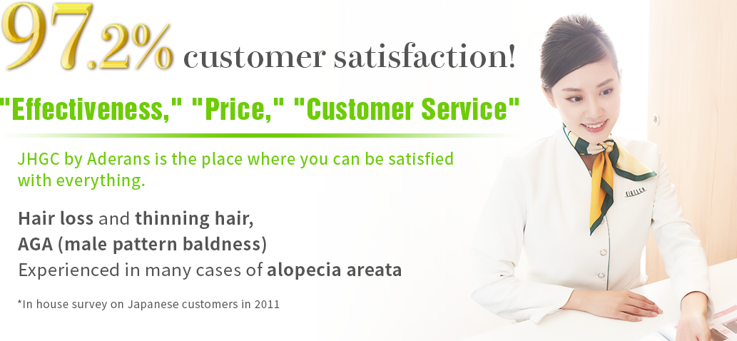 97.2% customer satisfaction