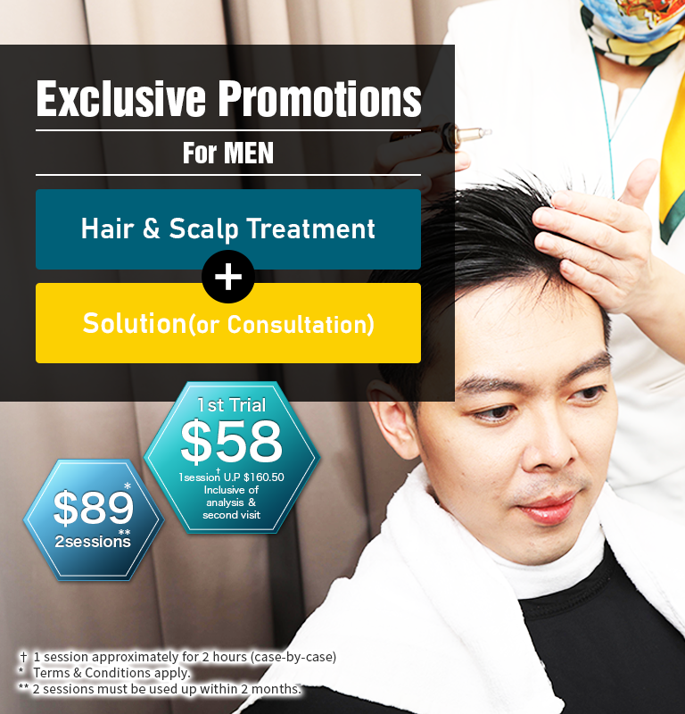 Exclusive Promotions for men