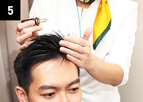 独创的头发修复剂可增加IGF的产生