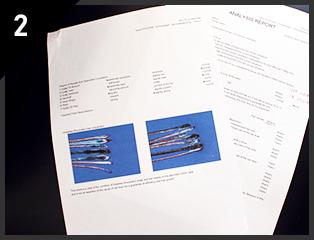 收集发丝进行显微成像,之后将由我们的专家为您提供详细的分析报告。