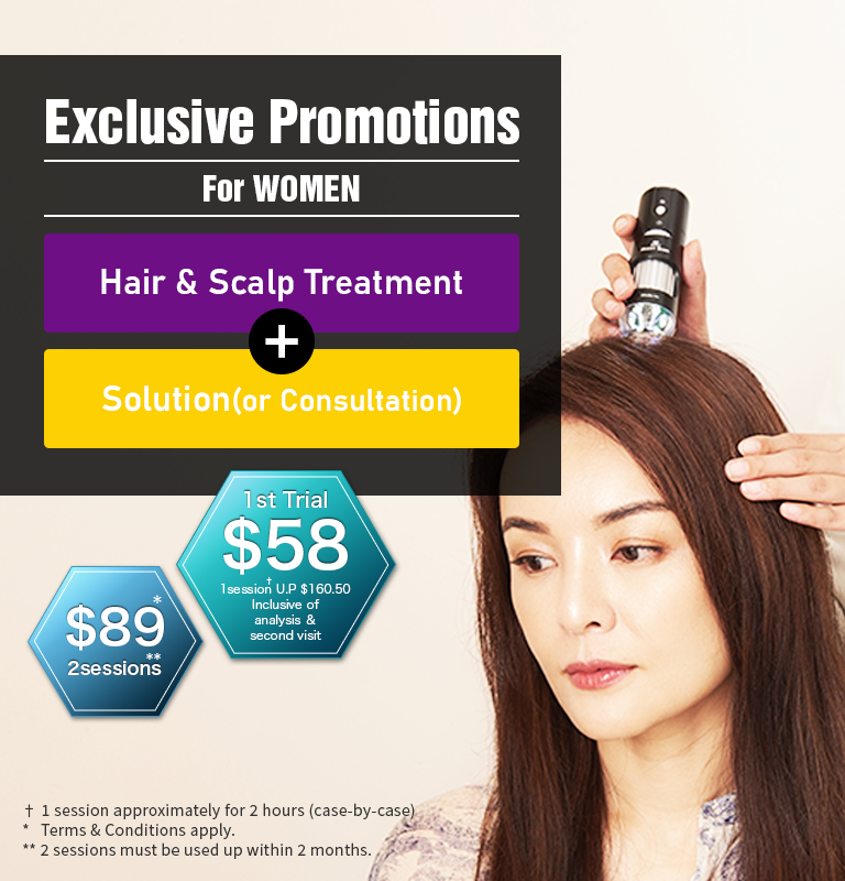 Exclusive Promotions for women