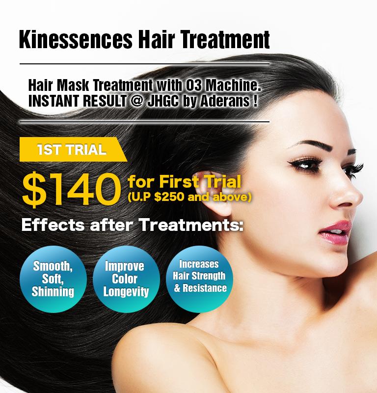 Kinessences Hair Treatment