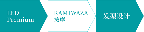 KAMIWAZA发技的流程